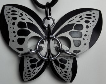 Pendant Black Butterfly
