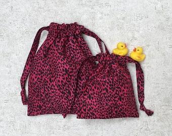smallbags printed fushia Black Panther - 2 sizes