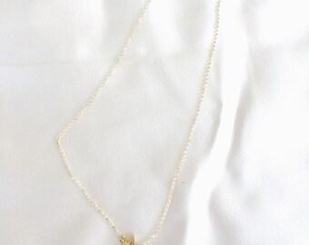 Star necklace golden bath chain Aurika Bijuters