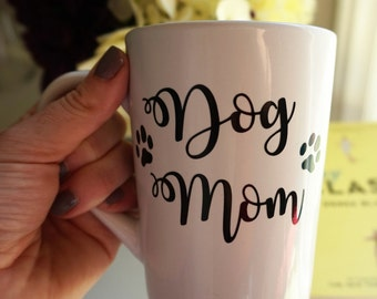 Dog Mom Mug / Dog Dad Mug / Dog Coffee Mug / Personalized Coffee Mug / Dog Mom Gift / Dog Dad Gift / I Love My Dog Mug / Dog Name Mug / Pets