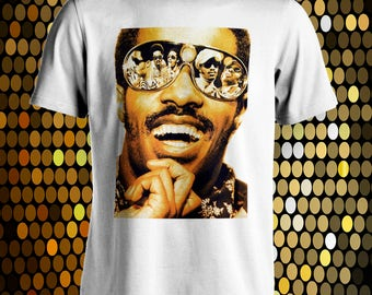 Stevie Wonder music T-Shirt