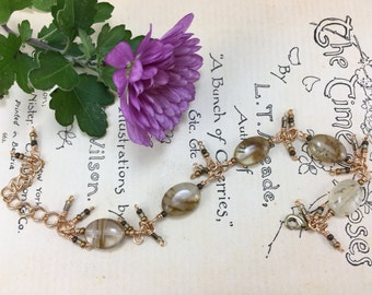 Gold and Copper Toned bracelet