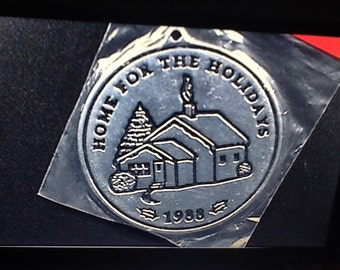 1995 Home for the Holidays ornament by Wilton Armetale