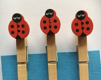 Lady Bug Peg | 07 | Planner Accessory