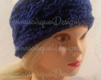 Bella Crochet Cabled Ear Warmer Headband