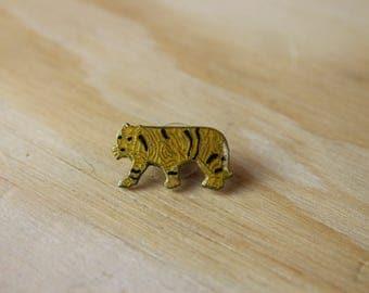 Vintage Tiger Enamel Pin - Great Gift!