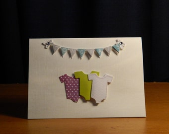 Congrats baby greeting card
