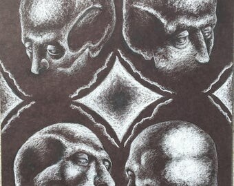 Skull Study (Drawing)
