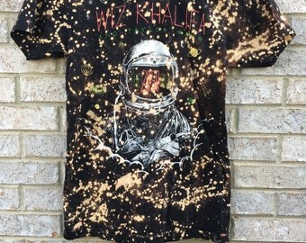Vintage Inspired Bleached 2050 tour Wiz Khalifa Shirt