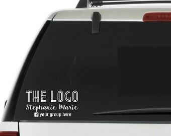 custom car decal- Custom car sticker- Personalized consultant vinyl decal