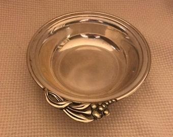 U.S.A. Randahl Sterling vintage sterling silver porridge bowl, marked Randahl Sterling 63