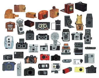 Cameras Throughout Time