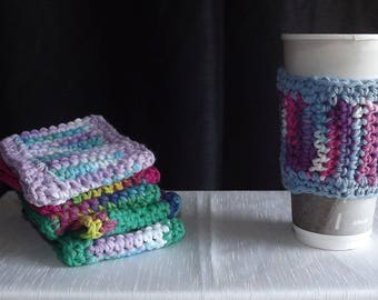 Multicolored Cup Sleeves