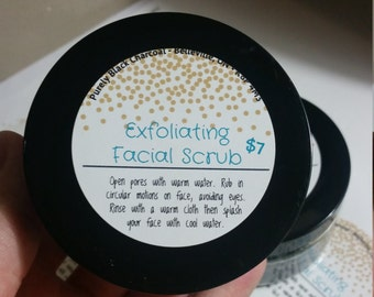 Exfoliating Facial Scrub (Lemon) - 4oz/120ml