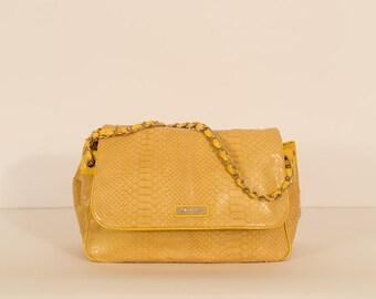 Python handbag, completely handmade
