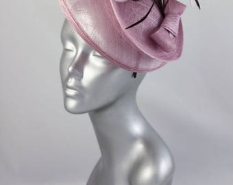 Hat hair lilac ceremony with headband