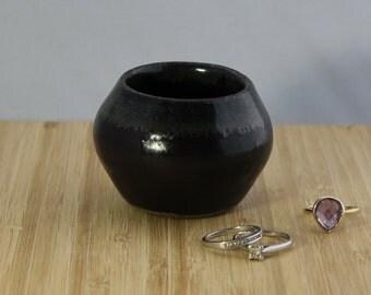Slate ring bowl