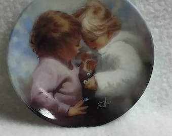 Moments to Remember Mini Collector Plate (Girls) - Tiny Treasures (#028)