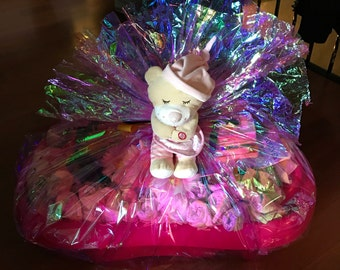 Personalized Baby Gift Basket