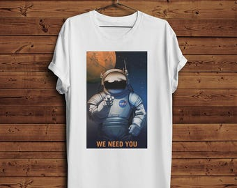 NASA Mars T-shirt - We Need You