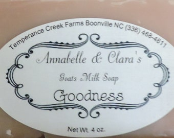 Handmade Goat's Milk Soap: Goodness
