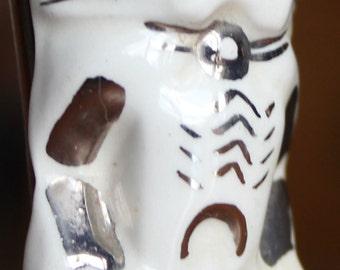 Vintage 40's? 50's? Pottery Hawaiian Tiki Pendant