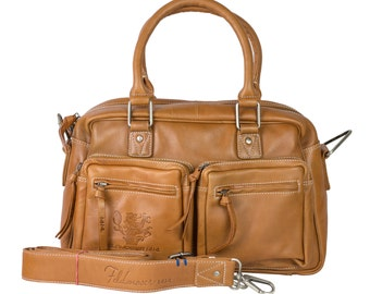 naturale handle bag made of genuine leather, by Feldmoser1414, made in Austria