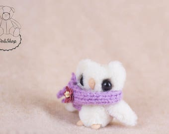 Little Plushie - Plush Owl Toy - Mini Plush Toy - Little Plush Owl - Stuffed Bird - Plushie Bird - Cute Little Plush - Stuffed Owl