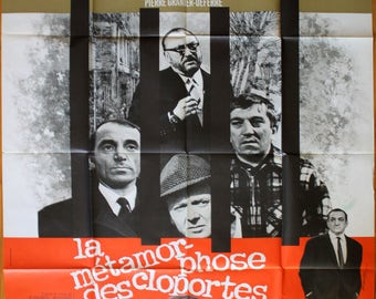 "Movie poster ""La méyamorphose des cloportes"" -Original-"