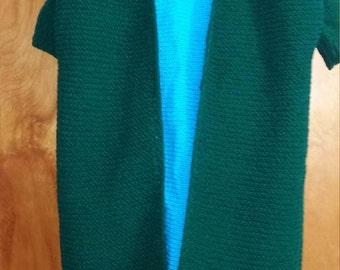 Knit longtail vest