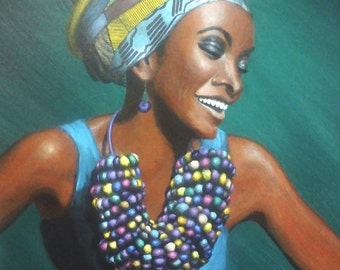 African woman (version 2)