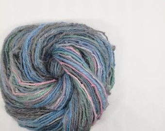 Handspun Alpaca DK chain ply - laine tissage tricot weaving knitting yarn