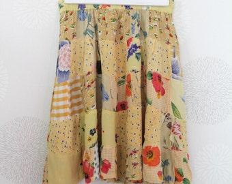 Vintage 1970's women skirt/skirt