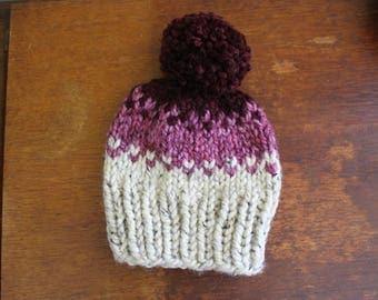 The Ombré Hat