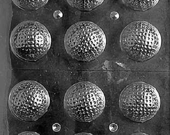 S051 3D Golf Balls Chocolate Candy/Soap Molds