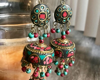 Ethnic Dome Earrings