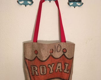 Recycled Burlap Market Bag