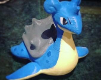Lapras Pokemon PLA printer 3D print figure hand