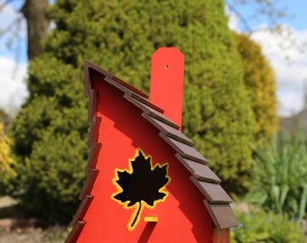 Birdhouse Outdoor birdhouse Bird houses handmade Large birdhouse Wood birdhouse Birdhouse decor Bird houses for sale Whimsical birdhouses