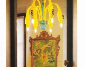1990's GIACON for VEART ARTEMIDE chandelier / lustre
