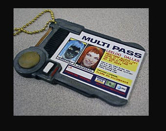 Movie Replica Multipass from The Fifth Element!