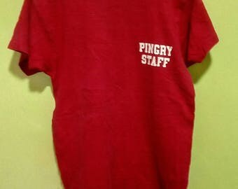 Rare Vintage champion 80s Pingry Staff Shirt Size S-M
