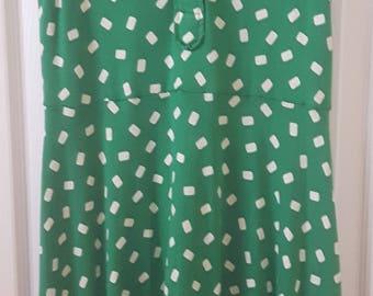 Diane Von Furstenberg 1970s Vintage Cotton Dress