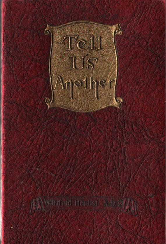 Tell Us Another Stories That Never Grow Old - Winfrid Herbst S. D. S. - 1925 - Vintage Kids Religious Book