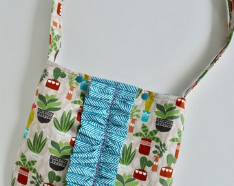 Little Girls Bag - Girls Purse - Girls Church Bag - Scripture Bag - Cactus Bag - Cactus Purse - Tote bag for Girls -