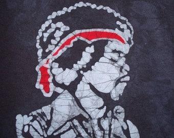 Kids Handmade Batik Jimi Hendrix Shirt