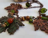 Forest Fall necklace