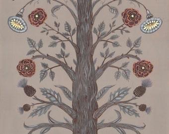 Garden Tree - Print