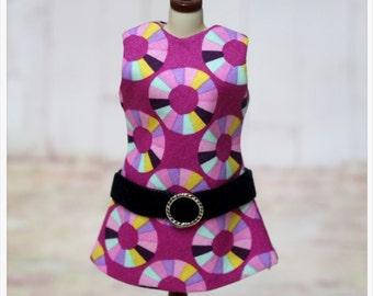 LADYBIRD HOUSE Blythe Outfit Retro Dress - POP - A