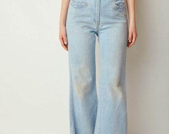 Vintage 70s Light Denim Jeans (30x28)